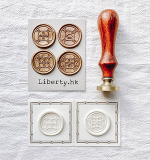 Liberty Taiwan Window Wax Seal (4 designs, sold individually)
