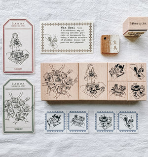 Liberty Stationeryholic Rubber Stamps (sold individually)