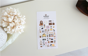Suatelier - Stickers - vlog_home