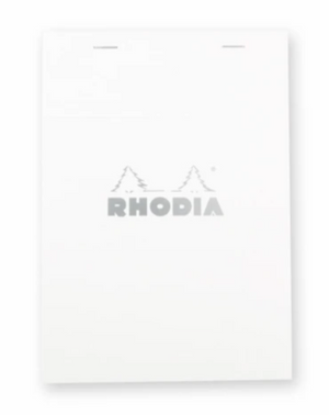 Rhodia - No 16 Top Staplebound Grid White