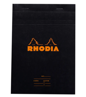 Rhodia - No 16 Top Staplebound Meeting Black