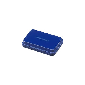 Shachihata Basic Ink Pad Small - Blue Indigo
