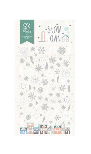 Suatelier- Stickers - Snow Town 2045