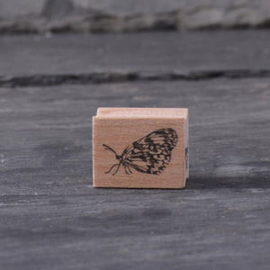Stempel Jazz Rubber Stamp - Butterfly Sideways - Small