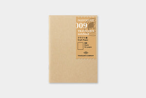 Traveler's Notebook Refill - Passport Size - 009 Kraft Paper