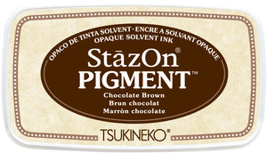 Tsukineko - StazOn Pigment - Chocolate Brown