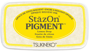 Tsukineko - StazOn Pigment - Lemon Drop
