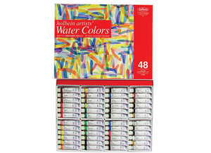 Holbein Artists' Watercolor Series 48 Color Set - 5ml