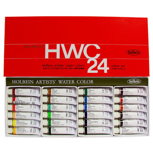 Holbein Artists' Watercolor Series 24 Color Set - 5ml