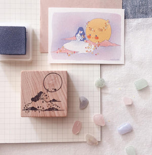 msbulat Luna & Me Rubber Stamp