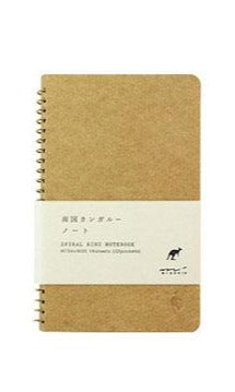 MD Spiral Ring A6 Kangaroo Notebook