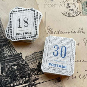 Lamp x Paperi Postale Sticker Box: Number