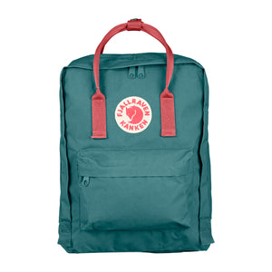 Fjallraven Kanken Classic Backpack 664/319- Frost Green-Peach Pink