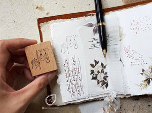 Nove Celeste Ideas Rubber Stamp