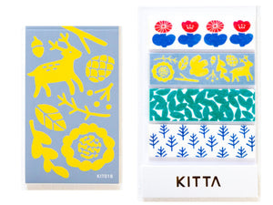 KITTA Washi Tape-KIT018 Nordic