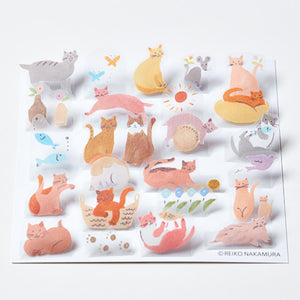 King Jim Pop-Up Stickers: POP005 Cat