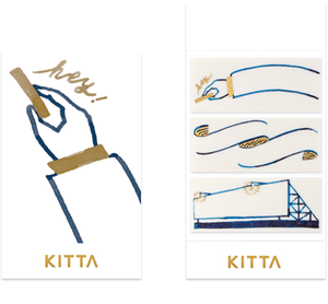 KITTA Washi Tape (Wide)-KITW002 Frame