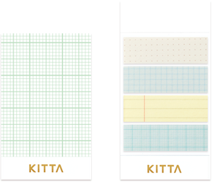 KITTA Washi Tape-KIT052 Notebook