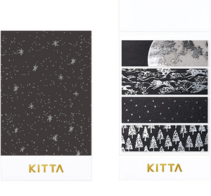 KITTA Washi Tape Limited Edition - KITL005 Night