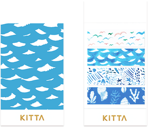 KITTA Clear Seal Washi Tape -KITT002 Umibe