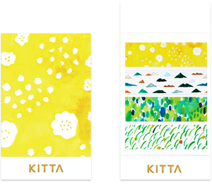 KITTA Clear Seal Washi Tape -KITT003 Yamanami