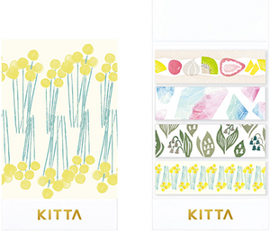 KITTA x moogy Seal Washi Tape- KITX001 Humming