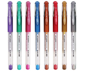 Uni-Ball Signo DX Gel Roller Pen 0.7mm - Metallic Colours (4 colours, sold separately)