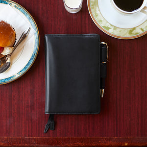 Hobonichi Techo 2019 Planner TS Basic Black Leather A6