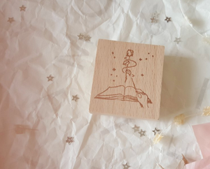Yeoncharm Spell Book Rubber Stamp