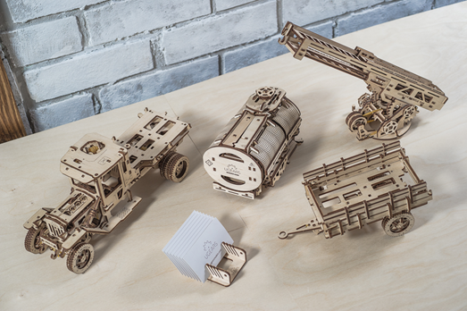 New UGears Models - Coming mid-Novemeber
