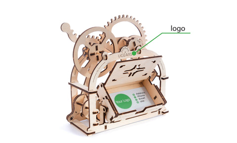 UGears Mechanical Box Etui Branding Custom
