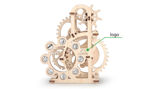 UGears Mechanical Model Dynamometer Custom Brand