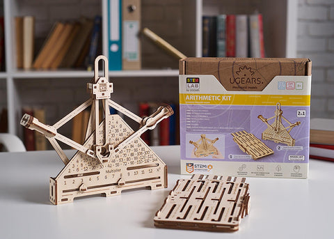 UGears Stem Lab Arithmetic Kit for sale by UGears.us