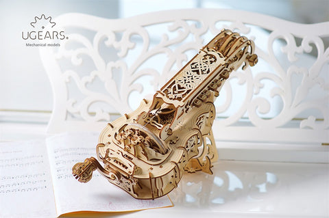 UGears Mechanical Model Hurdy Gurdy