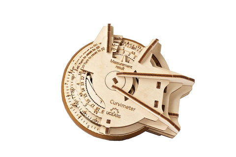 UGears Wooden Mechanical Model Kit STEM STEAM Lab Curvimeter Educational