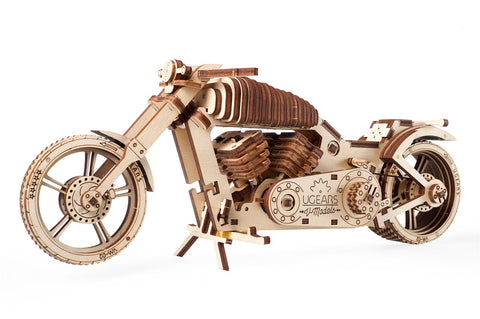 UGears Mechanical Model V-Series Bike VM-02