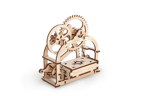 UGears Mechanical Wooden Model 3D Puzzle Kit Mechanical Etui/Box