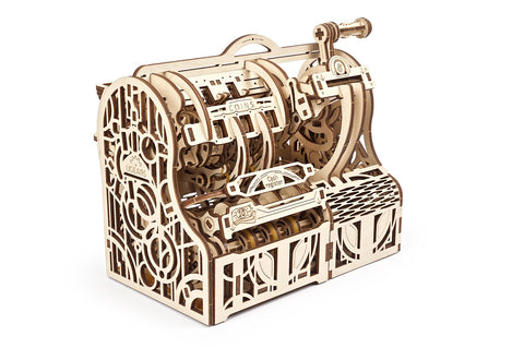 UGears Wooden Mechanical Model 3D Puzzle Kit Cash Register