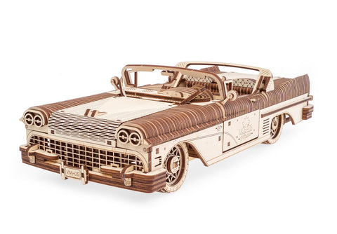 UGears Wooden Mechanical Model Dream Cabriolet VM-05