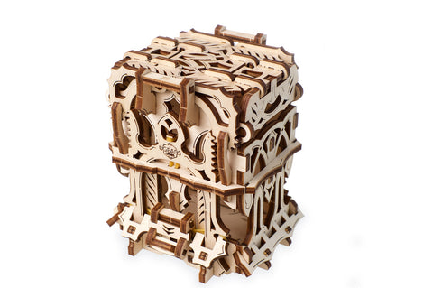 UGears Games Wooden Mechanical Model Kit Deck Box