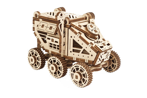UGears Wooden Mechanical Model 3D Puzzle Kit Mars Buggy