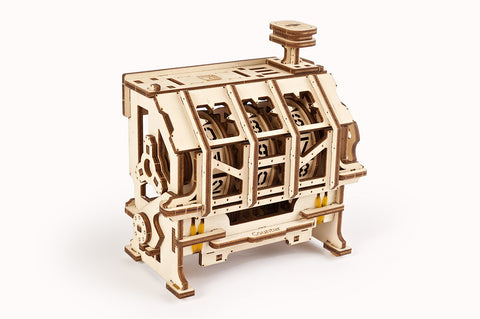 UGears Wooden Mechanical Model 3D Puzzle Kit STEM Lab Counter