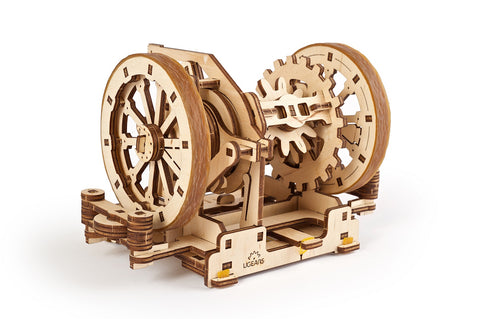 UGears Wooden Mechanical Model 3D Puzzle Kit STEM Lab Differential