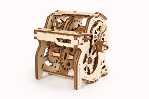 UGears Wooden Mechanical Model 3D Puzzle Kit STEM Lab Gearbox