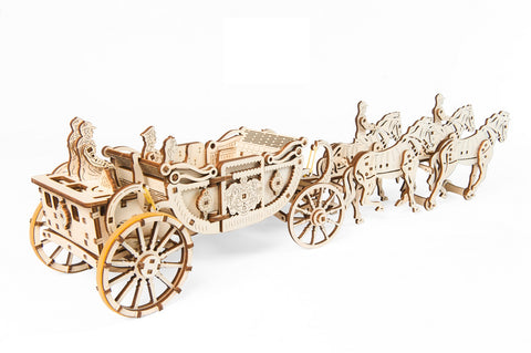 UGears Mechanical Model Royal Carriage (Limited Edition)