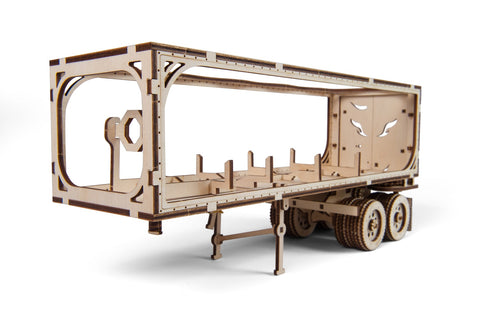 UGears Mechanical Model V-Series Trailer for Heavy Boy Truck VM-03