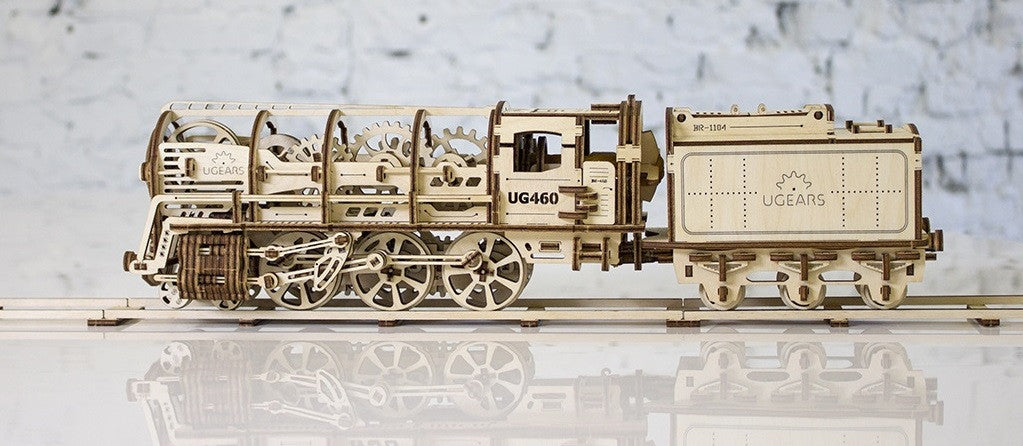 Ugears Locomotive with Tender