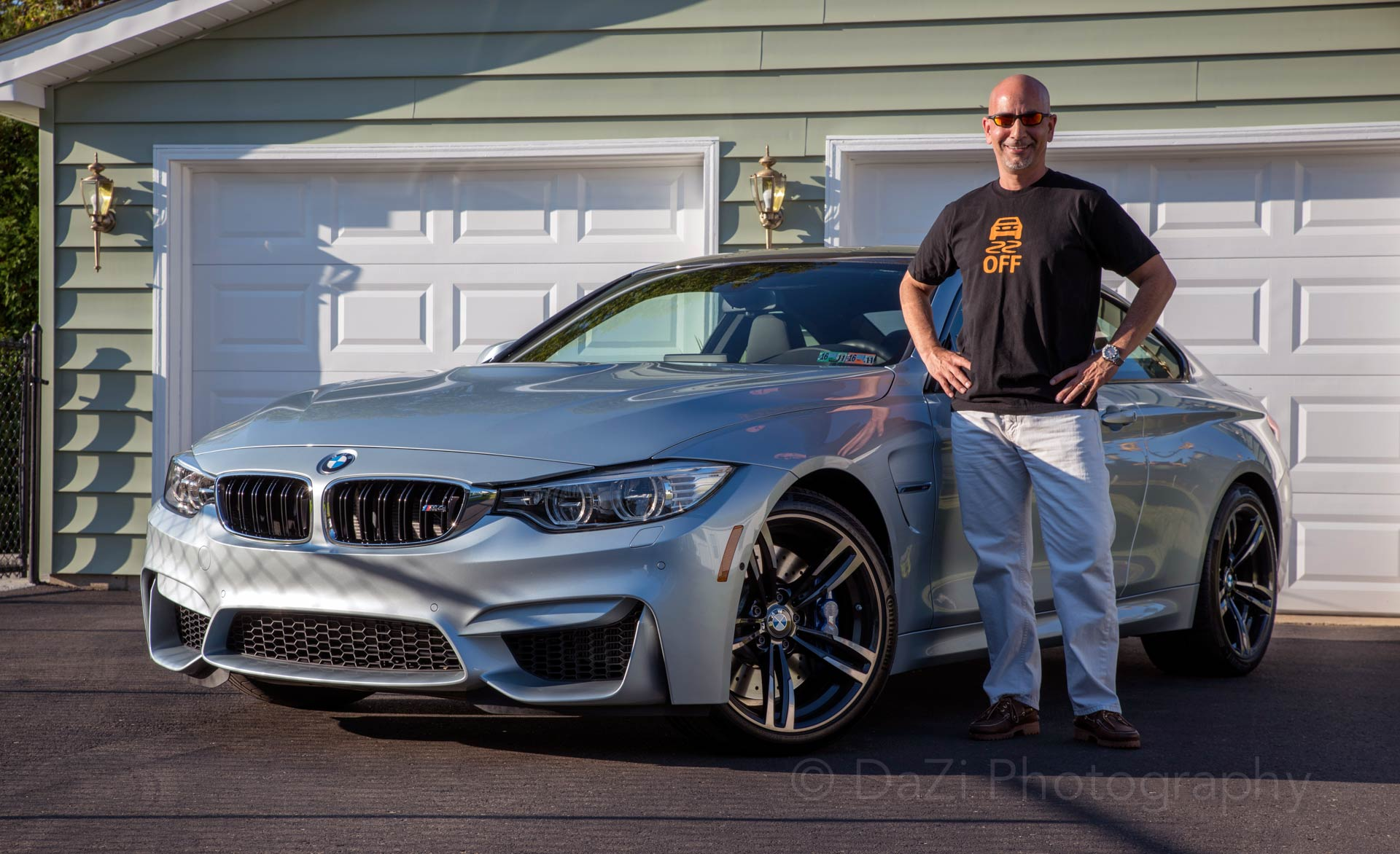 Danny with his Silverstone M4