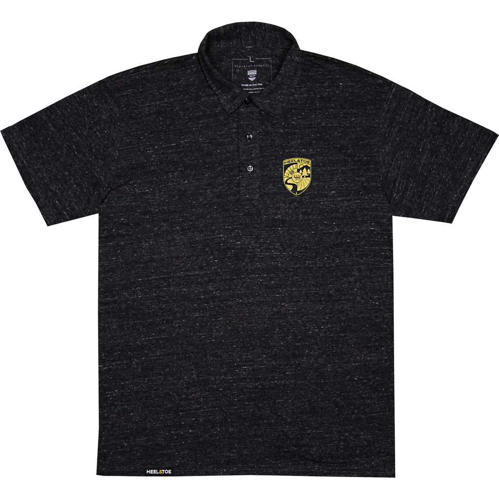 Heel & Toe Crest Polo