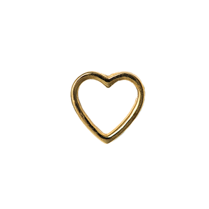 14ct Rose Gold Amour Contour End - Isha Body Jewellery